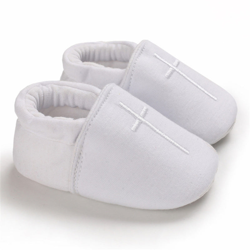 Baby Unisex Slip Ons Solid Comfy Shoes