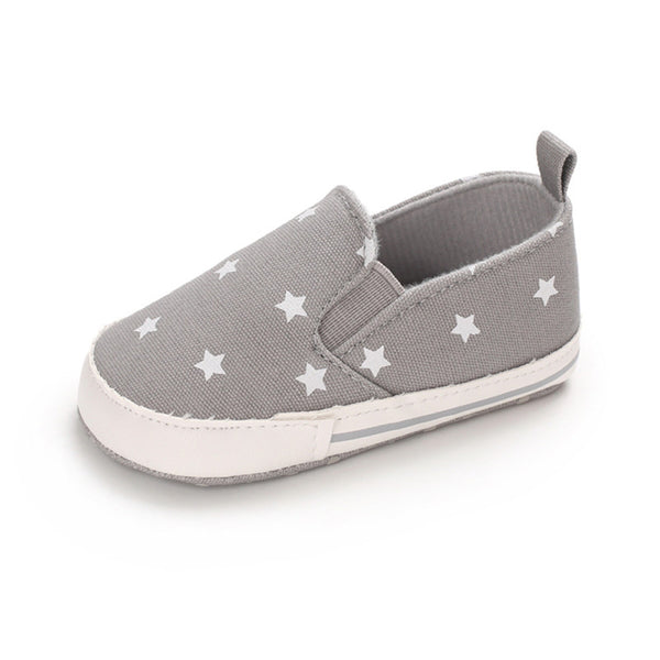 Baby Girls Slip Ons Star Casual Sneakers