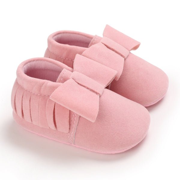 Baby Girls Soft Fringe Slip On Flats Wholesale Children Shoes