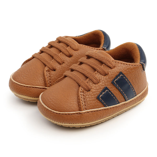 Baby Soft Soled Lace-up Casual Sneakers Wholesale Toddler Shoes