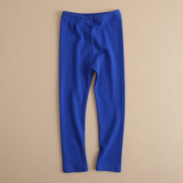 50PCS No Profit On Sale Clearance & Closeout Specials Girls Soft Solid Color Elastic Waist Trousers