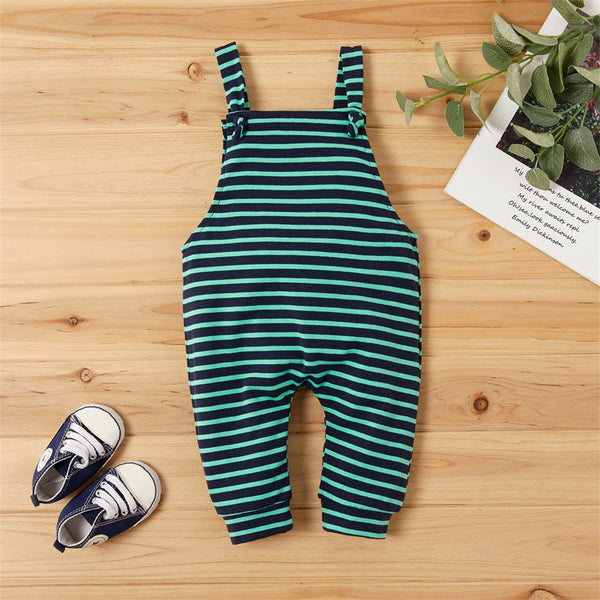Baby Soft Striped Romper