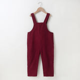 Girls Solid Color Bow Decor Kitty Jumpsuit Wholesale Girl Boutique Clothing