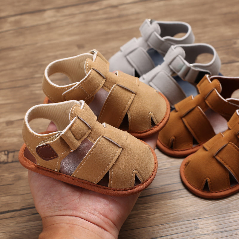 Baby Unisex Solid Color Hollow Out Sandals Kids Shoes Wholesale Suppliers