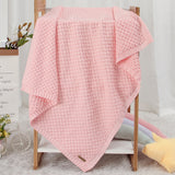 Baby Solid Color Knitted Casual Wholesale Baby Blankets