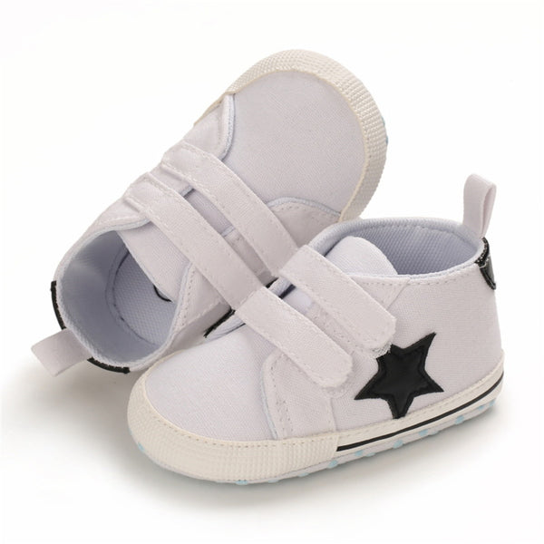 Baby Unisex Star Magic Tape Shoes Wholesale Child Shoes