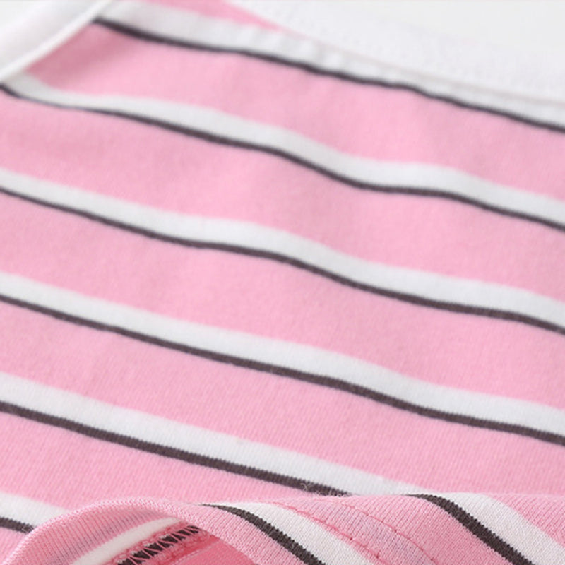 Girls Striped Sling Top & Shorts kids clothing wholesale