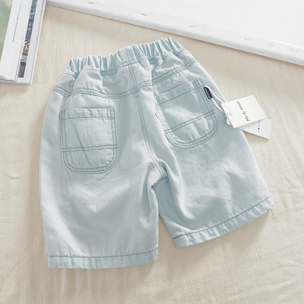 Summer Boys' Knitted Shorts Toddler Boy Pants