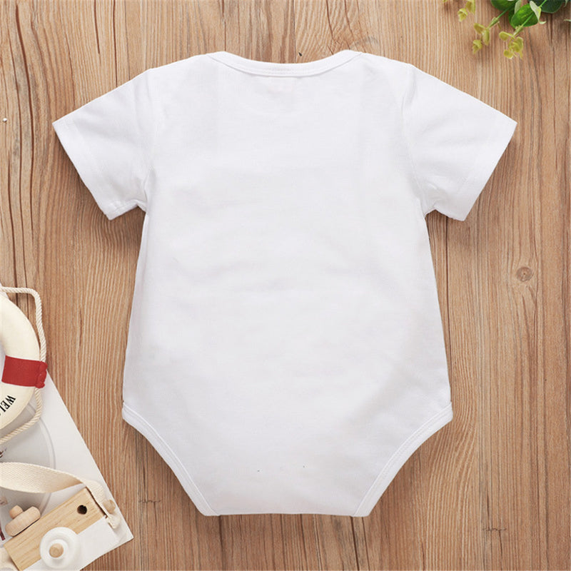 Cool Baby Boys Sunglasses Printed Short Sleeve Romper Baby Clothes Warehouse