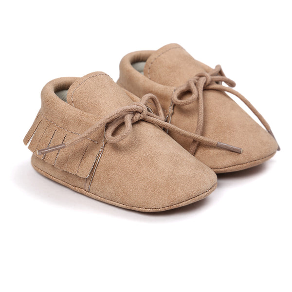 Baby Tassel Lace Up Comfy Flat Shoes Wholesale Shoes For Kids