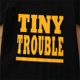 Boys Tiny Trouble Printed Short Sleeve Top & Camo Shorts Wholesale Boys Clothes