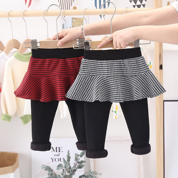 Toddler Girls Two Fake Children's Skirt Pants Girls Clothes Wholesale