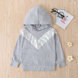 Boys Long Sleeve Hooded Sweater Tops&Pants Boys Boutique Clothing Wholesale