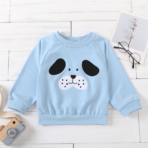 Unisex Cartoon Crew Neck Long Sleeve T-shirt Kids Boutique Wholesale