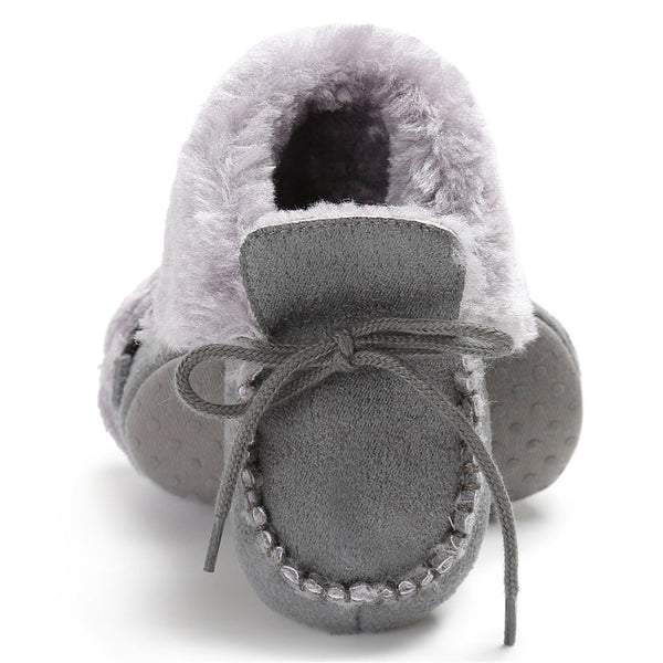 Baby Unisex Solid Warm Snow Boots Children Wholesale Shoes