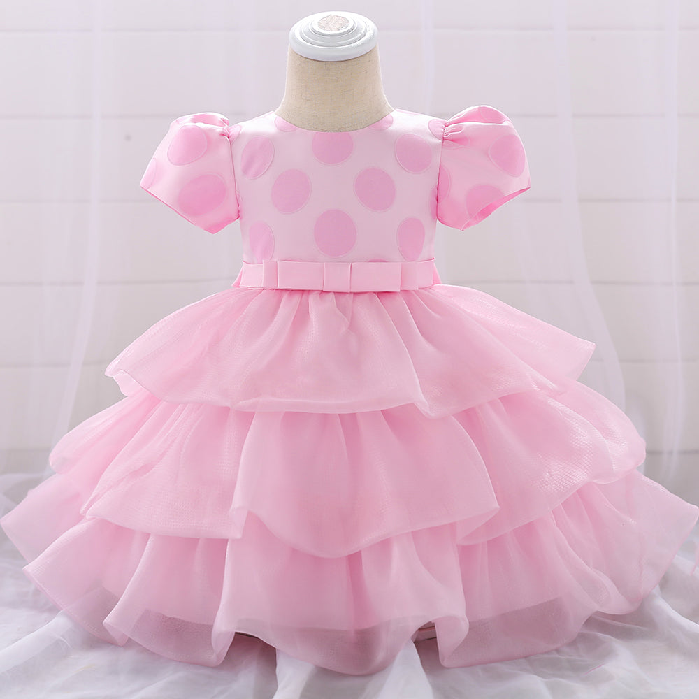Toddler Girl Dress Cake Skirt Tutu Mesh Princess Skirt
