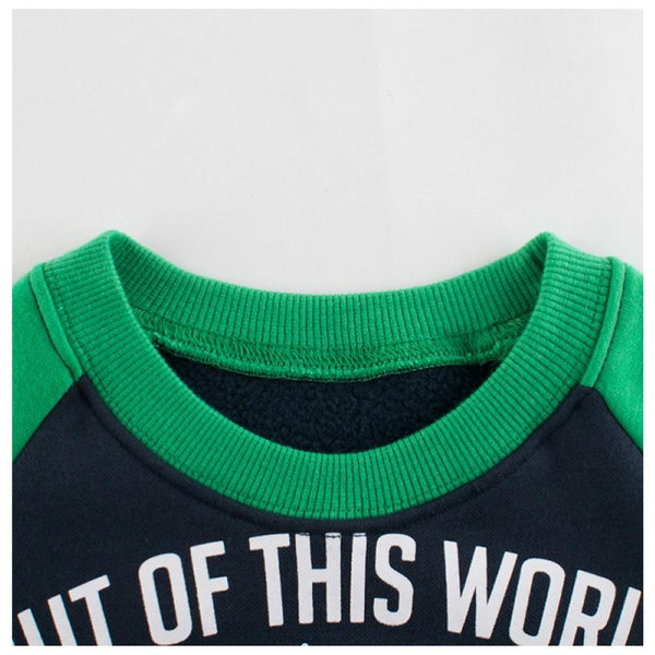 Kid Boys Universe Dinosaur Printed Top Wholesale Toddler Boy Clothes