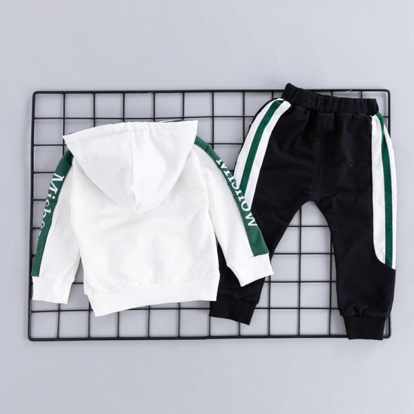 Boys Letter Printed Sport Suits Boys Clothes Wholesale