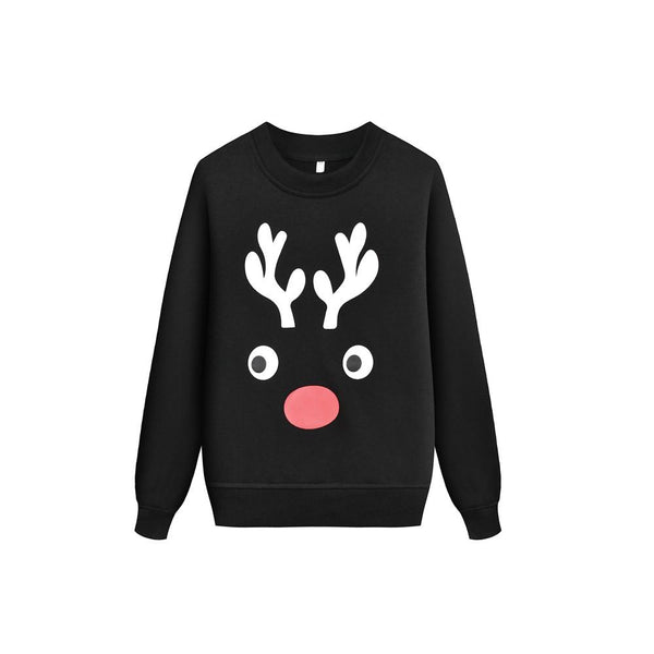 Kids Unisex Christmas Elk Pattern Top Wholesale Boys Boutique Clothing