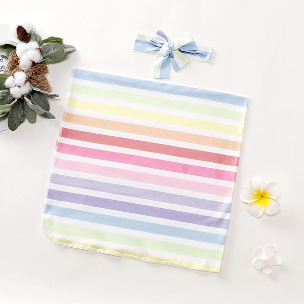 Baby Rainbow Striped Blanket Baby Blankets Wholesalers