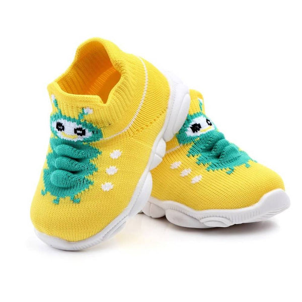 COTTNBABY Unisex Caterpillar Knit Sneaker Shoes For Toddler