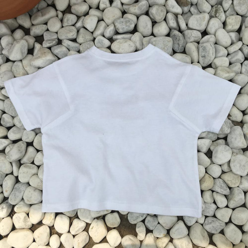 Girls Summer Girls' Letter Printed Short Sleeve T-Shirt Girl Boutique Clothing Wholesale