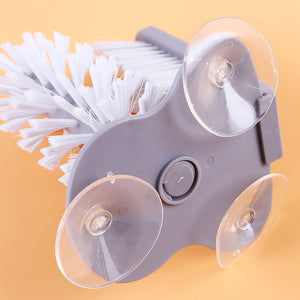 LAZY ROTATING GLASS CUP CLEANING BRUSH - MAKES WASHING DISHES FUN!