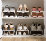 Japanese Fishing-pattern Stackable Shoe Rack
