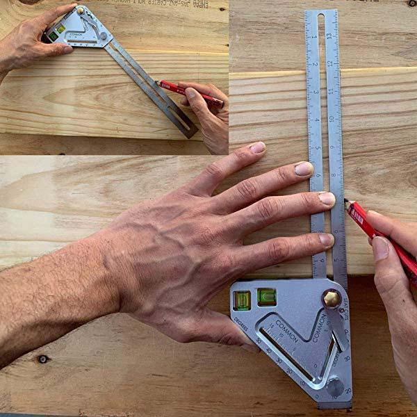 Multifunctional Woodworking Ruler