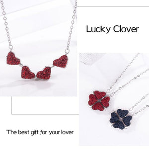 Double-Sided Four-Leaf Clover Necklace - Buy 1 Get 1 Free