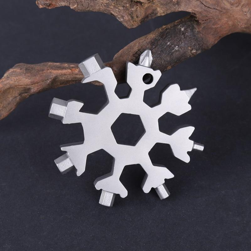 18 in 1 Snowflakes Multi-tool