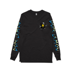 GUN CAT BLACK LONGSLEEVE