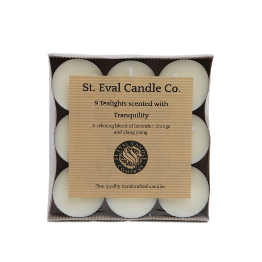 Tranquility Tealights x9
