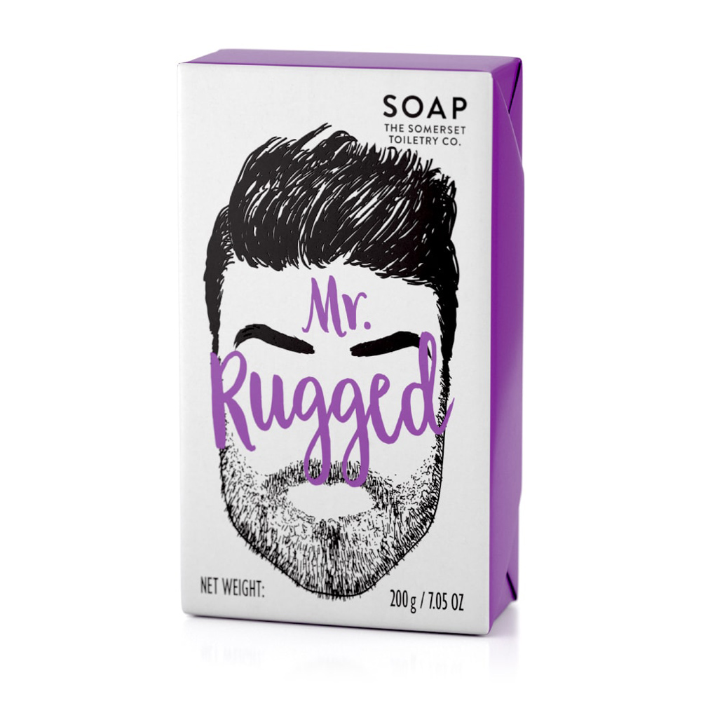 Mr Rugged Soap in Cedarwood and Lemongrass