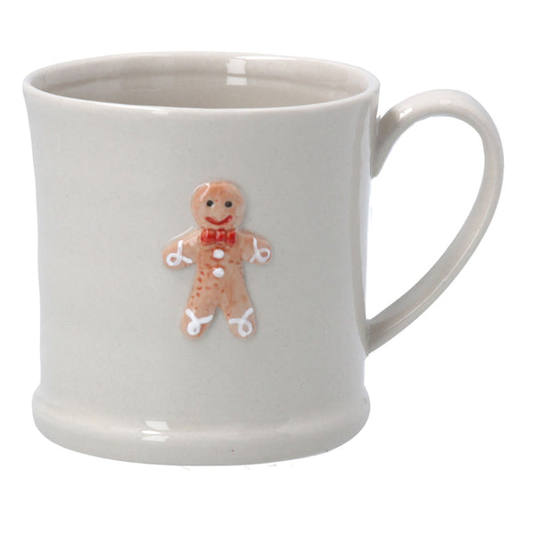 Mini Mug with Gingerbread Man