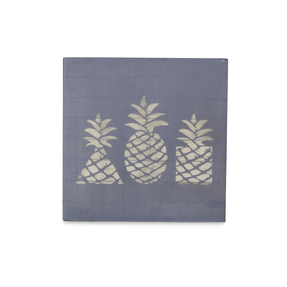 Coaster - Pineapple carved