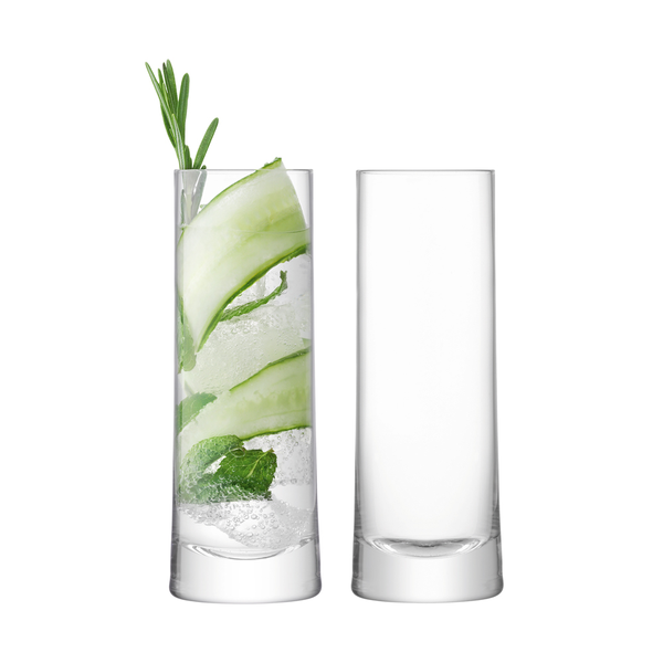 Gin Highball 380ml Clear x 2
