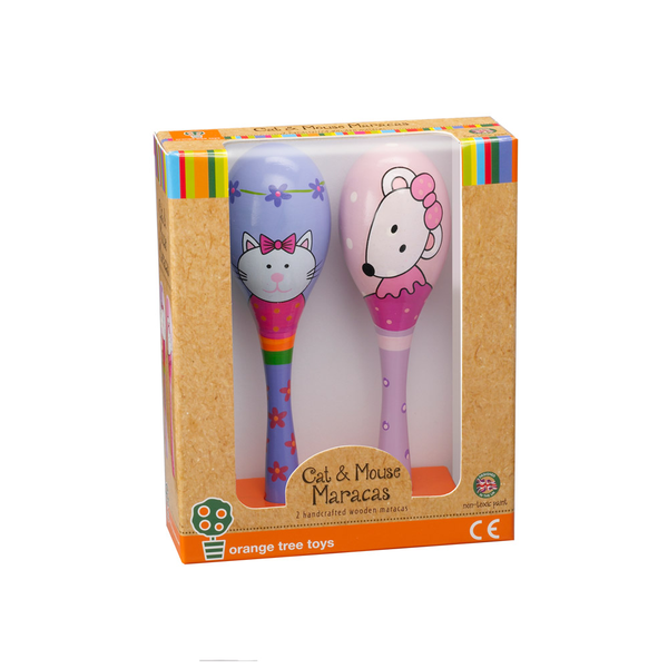 Pink Mouse maracas