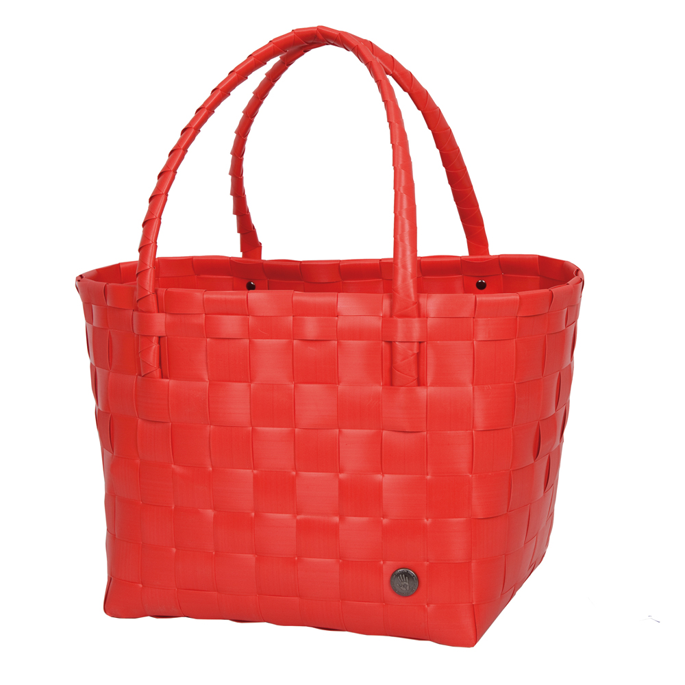 Paris Shopper in Coral Red