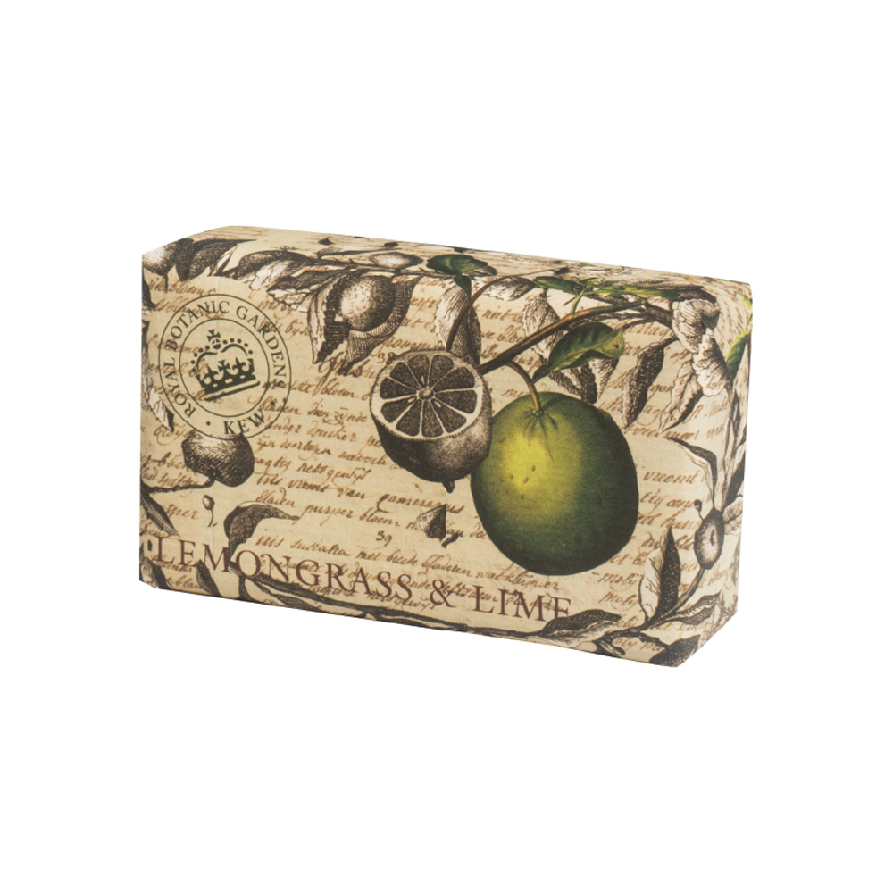 Kew Gardens 240g Soap Lemongrass & Lime