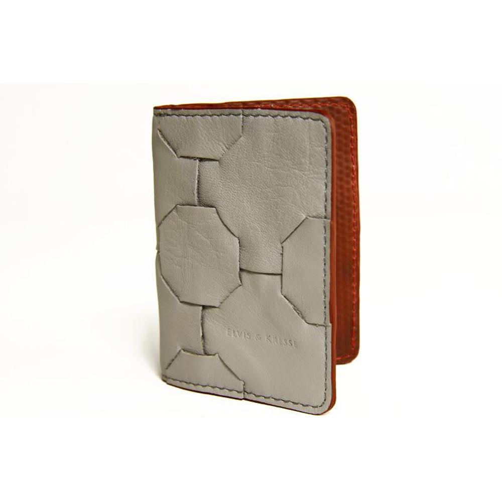 Elvis & Kresse Card Holder - Grey