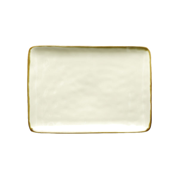 Ivory Rectangular Tray - Medium