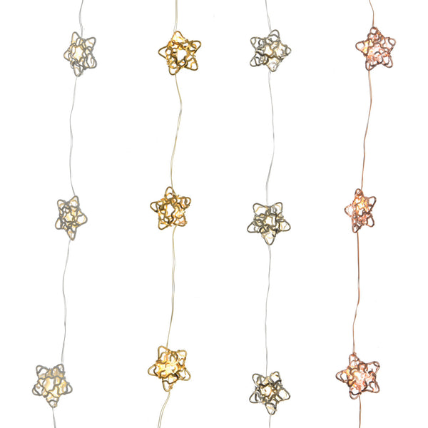 Micro LED Wire Lights - Stars