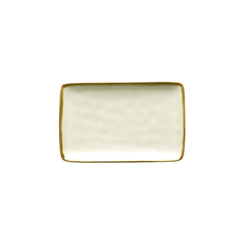 Ivory Rectangular Tray - Small