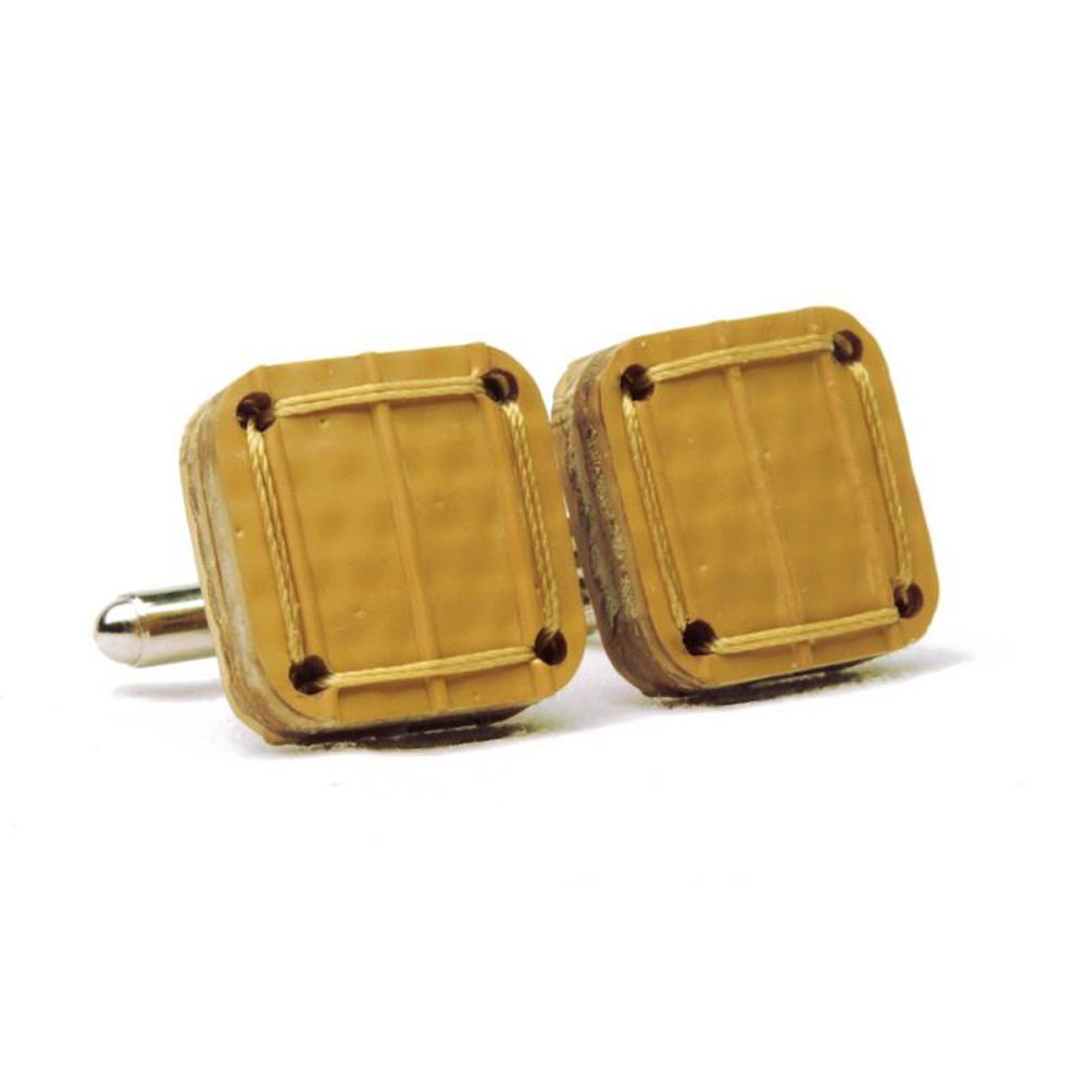 Elvis & Kresse Torpedo Cufflinks - Yellow
