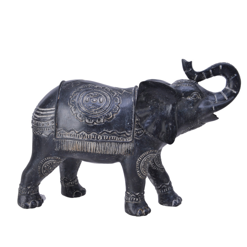 Encarved Elephant Ornament