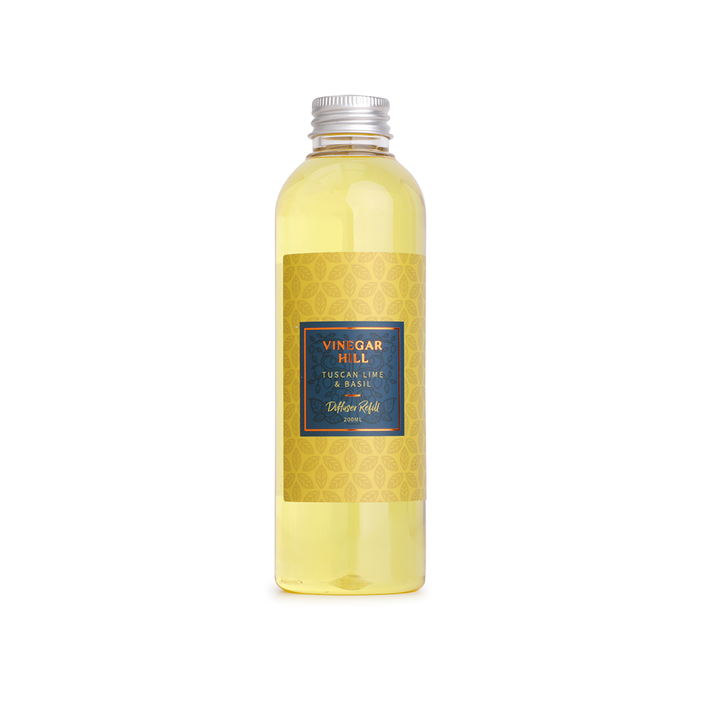 Tuscan Lime & Basil Reed Diffuser Refill 200ml