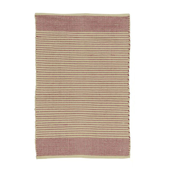 Woven Rug - Pink
