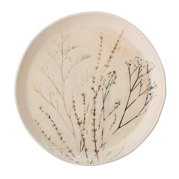 Bea Stoneware Serving Plate Round
