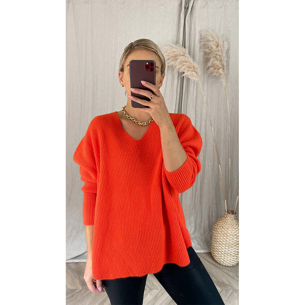8pm Sweater in Orange